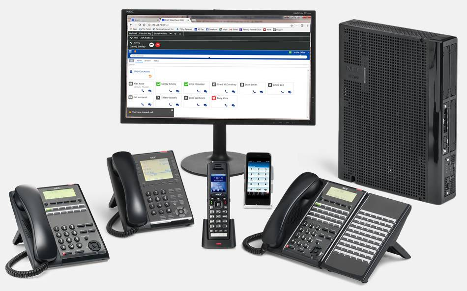 pbx solutions NEC 2100 installed bt Advanced Communications Services in Portland, OR.